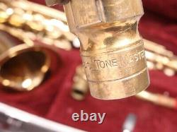 Conn 22M Tenor Saxophone withSuper Tone Master Mouth Piece In Hard Case