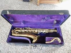 Conn 30M Connqueror Tenor Saxophone 1937 275xxx Original Neck/Case