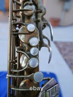 Conn 30M Connqueror Tenor Saxophone 1937 275xxx Original Neck New GL Case