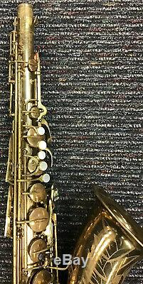 Conn Antique 30M Naked Lady Professional Tenor Saxophone Sax & Case Vintage Used