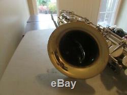 Couesnon Monopole Conservatoire PROFESSIONAL TENOR Saxophone withcase
