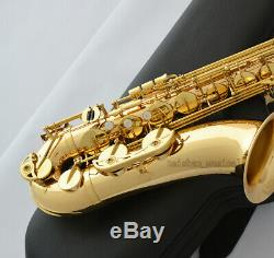 Customized God brass body Tenor Saxophone Bb sax 62 model saxofon With Case