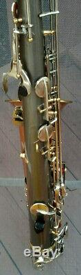 Customized/Used VITO Tenor Sax and Case in Very Good Condition