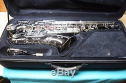 DEMO Keilwerth Shadow SX90R Black Nickel Tenor Saxophone with case and access