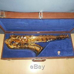 Dave Guardala New York Tenor Saxophone mit case, selmer tuch, Tone Edge Mundstück
