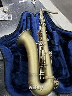 Demo model P Mauriat 66RDK Dark Finish Matte performance Tenor Sax w case and mp