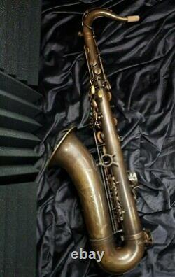 Dr. Philip's Action 15 Unlacquered brass Tenor Saxophone