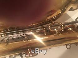 E. M. Winston Boston Tenor Saxophone withcase and mouthpiece cost $1988.00 when new