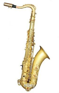 Eastern Music unlacquer original brass tenor saxophone Reference 54 with case