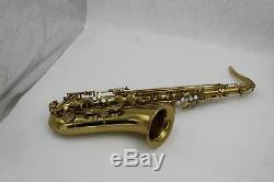 Eastern music champion gold tenor saxophone Mark VI type no F# with whitePc case