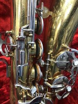 Evette Tenor Sax For Parts, Not Working With Case