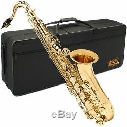 Factory Refurbished Jean Paul TS400 Tenor Saxophone with Carrying Case