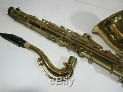 G02/ Vintage Selmer Signet Tenor Saxophone with Case