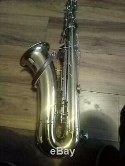 GDR Berg Larsen Tenor Saxophone with Case seriel number 47566 made in gdr