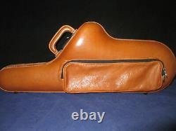 Genuine Italian Leather Tenor-Saxophone Case- Imported