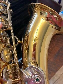 Giardinelli Saxophone Gts-300 Student Tenor Saxophone Good Shape With Hard Case