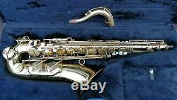 H. Couf Superba 1 tenor Saxophone with case (Like Mark 6) swap