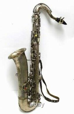 Healy & Lyon Tenor Low-Pitch Saxophone USA with neck/MP, No Case. Acceptable Cond