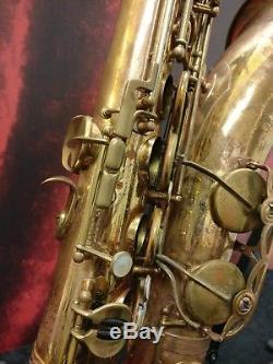 Henri Selmer Paris 1961 Mark VI Tenor Sax with Case