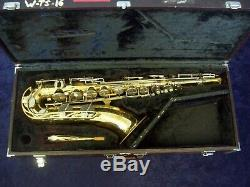 Highest Quality! Yamaha Japan Yts-21 Tenor Saxophone + Original Yamaha Case
