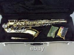 Highest Quality! Yamaha Yts-23 Japan Tenor Saxophone + Mpiece + Case + Extras