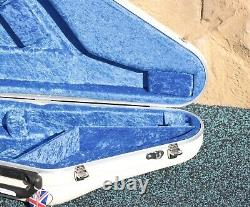 Hiscox Pro-II White Hard Shell Tenor Saxophone Case
