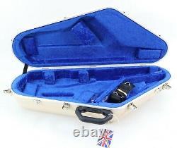 Hiscox Pro II Wts Tenor Saxophone Case Ivory