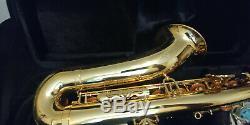 Jean Paul USA Intermediate Tenor Saxophone TS-400 -2 Necks & Case
