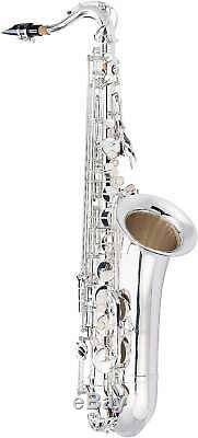 Jean Paul USA TS-400S Tenor Saxophone Key of Bb withCarry Case, Swabs & Mouthpiece