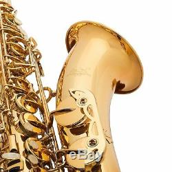 Jean Paul USA TS-400 Tenor Saxophone With Case Key of Bb withCarrying Case