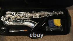 Jean Paul USA intermediate tenor saxophone Silver Plated finish