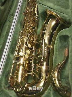 Julius Keilwerth Ex90 Series II Tenor Saxophone With Julius Keilwerth Case #111046
