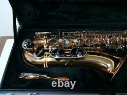 Jupiter Intermediate Tenor Saxophone Model JT3789 Hard Shell Case Ready To Play