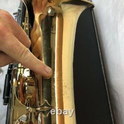 Jupiter JTS-587-585 Tenor Sax Saxophone and Case Just Serviced/Pads