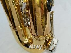 Jupiter JTS 687 Tenor Saxophone Jupiter with Mouthpiece Neck Strap Case Extras