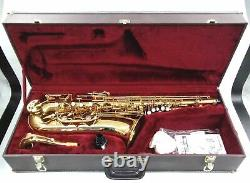 Jupiter JTS 687 Tenor Saxophone with Mouthpiece Extras and Case From Japan