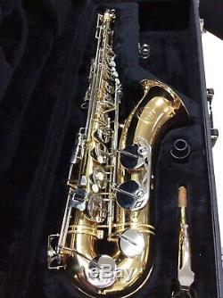 Jupiter Tenor Saxophone JTS-689-687 with Jupiter Hard Case SHIPS FREE