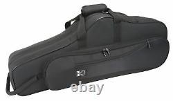 Kaces KBO-TSBK Lightweight Hardshell Tenor Sax Case, Black