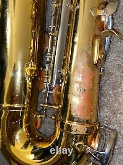 King 662 Tenor Saxophone Used