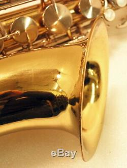 King Cleveland 615 Tenor Saxophone and Case