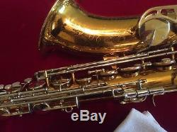 King Super 20 Tenor Saxophone 1973 With Case