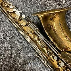 King Super 20 Tenor Saxophone Late'60s with Case