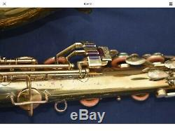 King Tenor Sax Budget Zephyr VOLL T 2 Repadded Ready, Orig case Monster Player