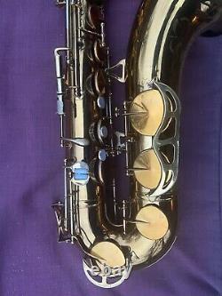 King Zephyr Tenor Saxophone Fresh Rebuild/New Pads/Adjusted with Original Case