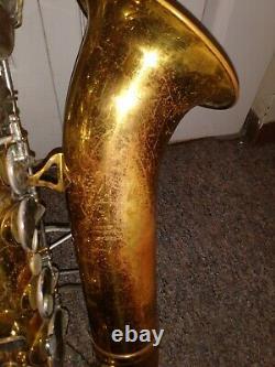 King tenor saxophone With Case, Cleveland Ohio