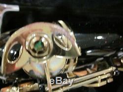 LA Sax Tenor sax Black withgold keys demo model list $3,799.00 withbrand new case