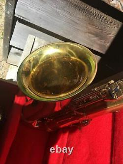 Leblanc Vito Tenor Saxophone # 10042 Made in France with Case