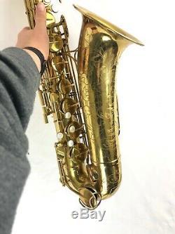 Martin Committee III Tenor Sax with Original Case + end plug + mouthpiece