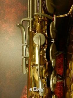 Martin Imperial Tenor Saxophone with hard case