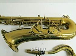 Martin The Martin Tenor Saxophone withHard Case